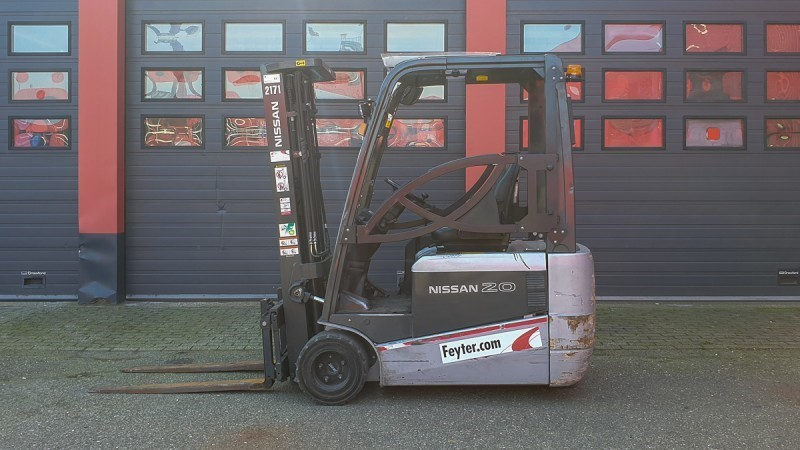Nissan AG1N1L20Q 2013, Used Forklifts for Sale in